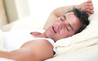 Изображения для статьи Как не храпеть во время сна