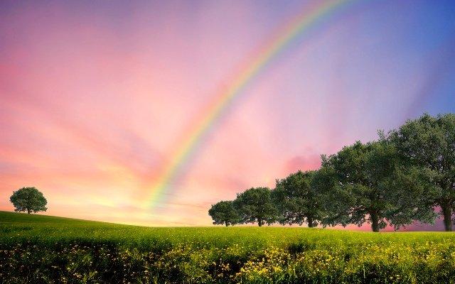 Видеть радугу во сне