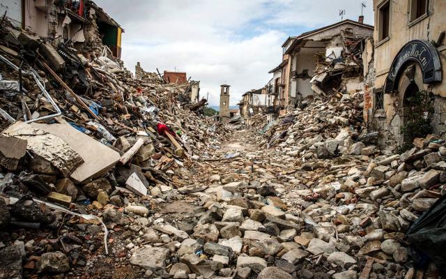 Видеть во сне землетрясение