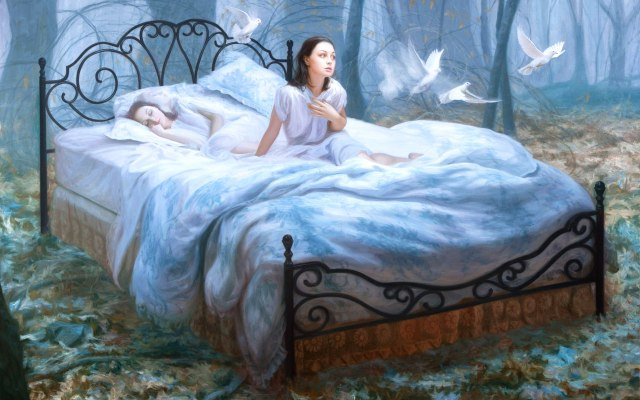К чему снится сон во сне или спать во сне, трактовка по сонникам